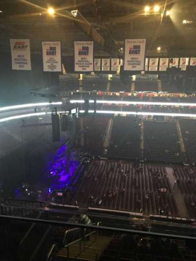 Prudential Center, section: 228, rangée: 3, siège: 4