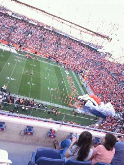 Empower Field at Mile High Stadium section 506