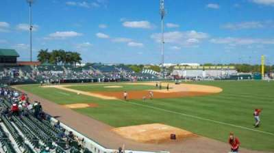roger dean stadium, section: patio