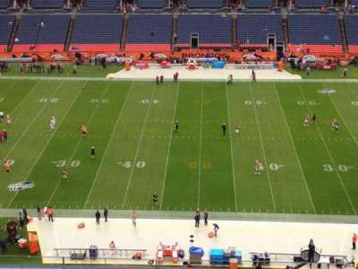 Empower Field at Mile High Stadium section 509