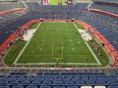 Empower Field at Mile High Stadium section 522
