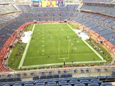 Empower Field at Mile High Stadium section 523