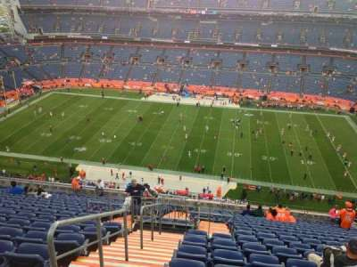 Empower Field at Mile High Stadium section 533