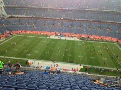 Empower Field at Mile High Stadium section 534