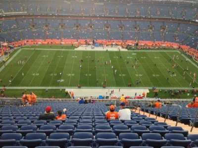 Empower Field at Mile High Stadium section 536