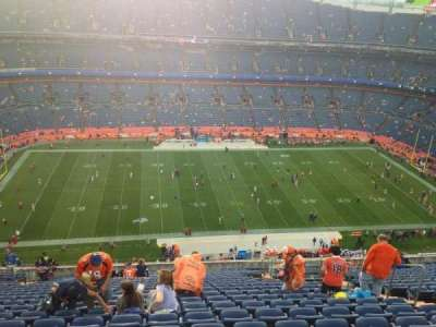 Empower Field at Mile High Stadium section 537