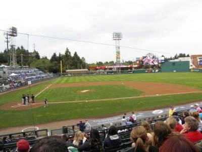 Cheney Stadium, section: 7, rangée: 4, siège: B