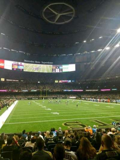 Mercedes-Benz Superdome, section: 130, rangée: 12, siège: 5