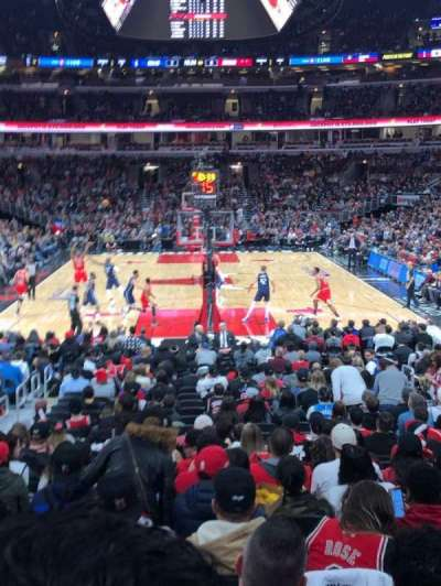 United Center section 106