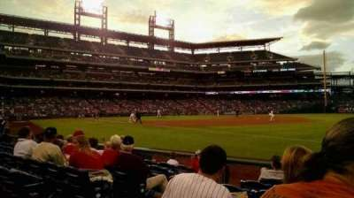 Citizens Bank Park, section: 111, rangée: 7, siège: 8