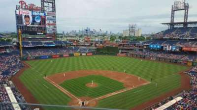 Citizens Bank Park, section: 320, rangée: 2, siège: 4