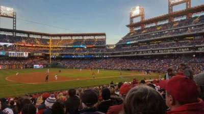 Citizens Bank Park, section: 133, rangée: 23, siège: 13