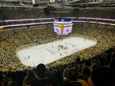 PPG Paints Arena, section: 223, rangée: P, siège: 14