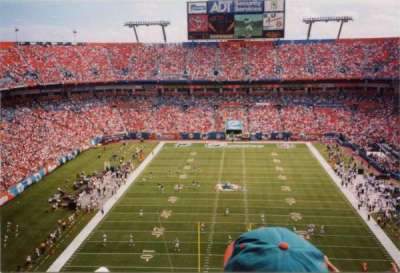 Hard Rock Stadium, section: 456, rangée: 22, siège: 24