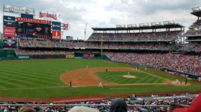 Nationals Park, section: 207, rangée: C, siège: 18