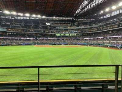Globe Life Field section 29
