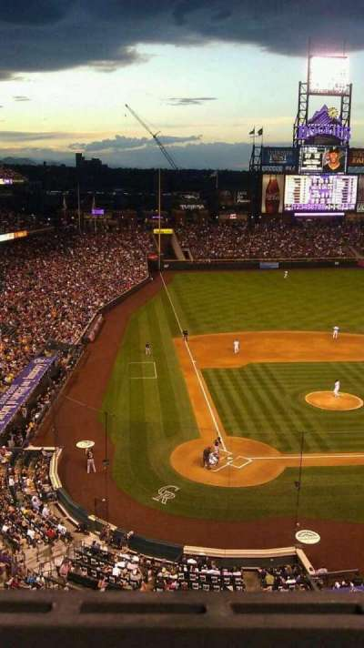Coors Field section L327