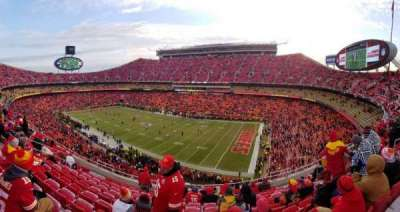 Arrowhead Stadium section 342