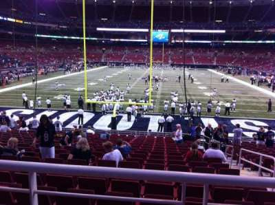 The Dome at America's Center section 154
