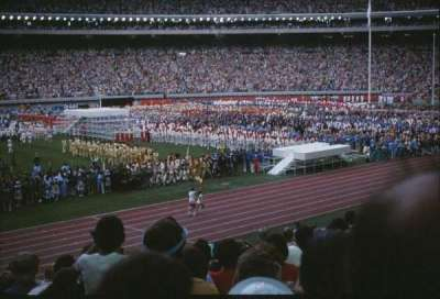 Olympic Stadium, Montreal, section: H, rangée: 11, siège: 8