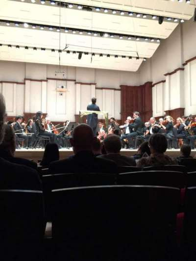Orchestra Hall section MF