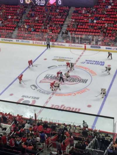Little Caesars Arena, section: 225, rangée: 2, siège: 10