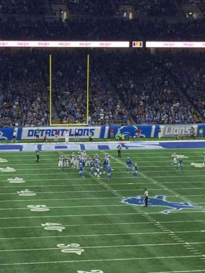 Ford Field, section: 241, rangée: 4, siège: 18