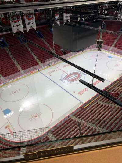 Centre Bell section Press Box