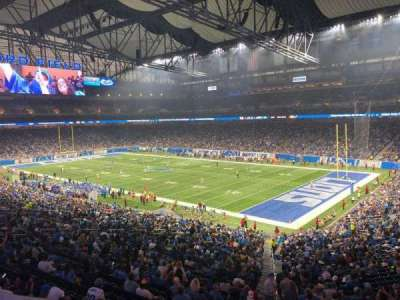 Ford Field section 214