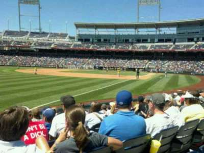 TD Ameritrade Park section 122