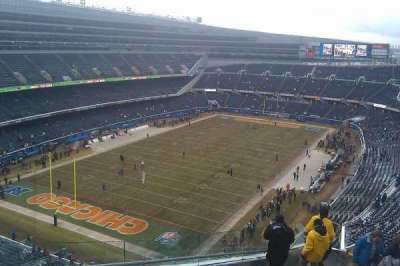 Soldier Field, section: 446, rangée: 12