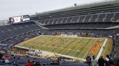 Soldier Field, section: 431, rangée: 30, siège: 11