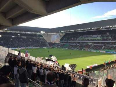 Stade Geoffroy-Guichard, section: Tribune H.Point, rangée: V30