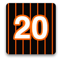 20 photos with the Baltimore Orioles at home