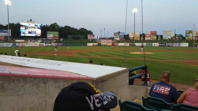 FirstEnergy Park, section: 110, rangée: 8, siège: 16
