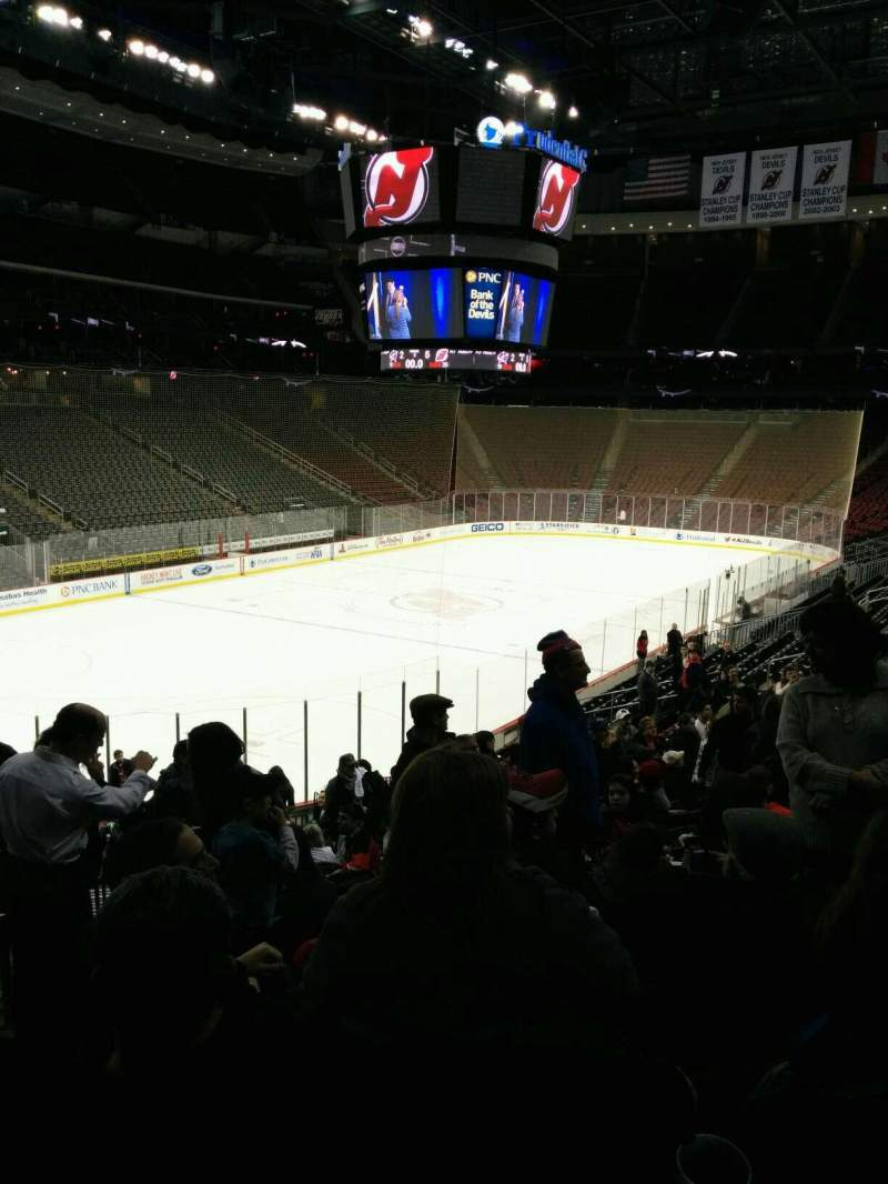 Prudential Center, section: 16, rangée: 22, siège: 24