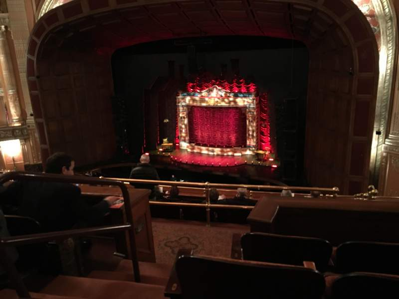 Benedum Center, section: 1st Tier (Balcony) Right, rangée: D, siège: 44