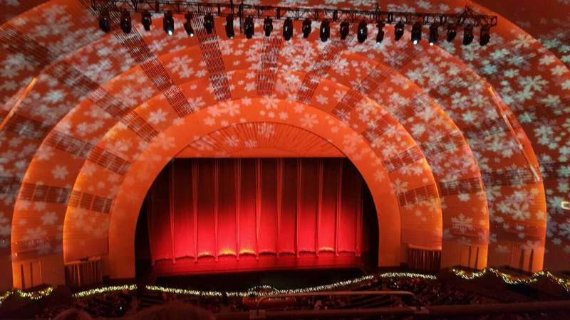 Radio City Music Hall, section: 3rd MEZZANINE 5, rangée: C, siège: 501