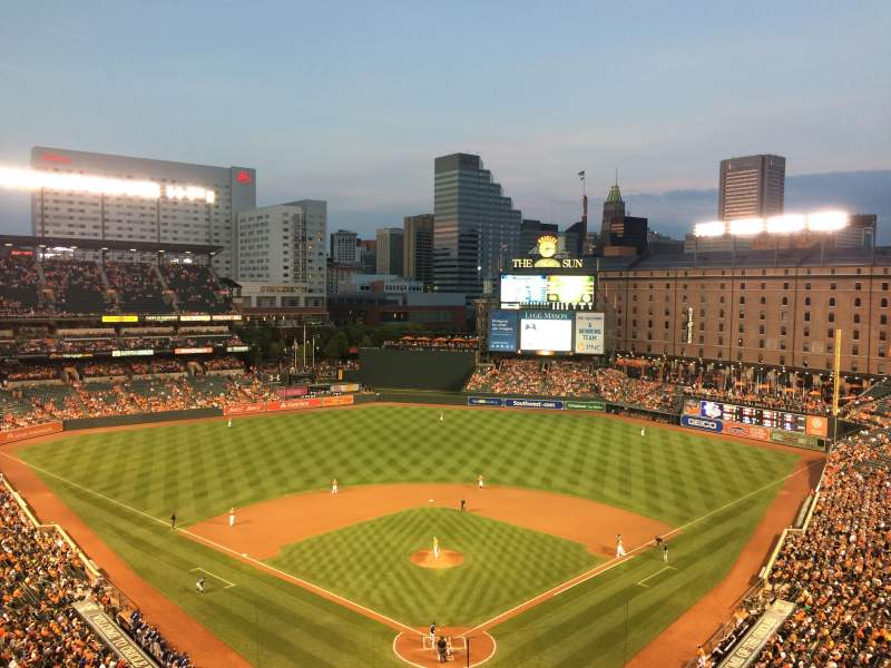 Oriole Park at Camden Yards, section: 336, rangée: 13
