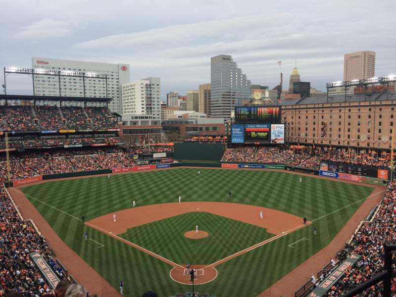 Oriole Park at Camden Yards, section: 336, rangée: 10