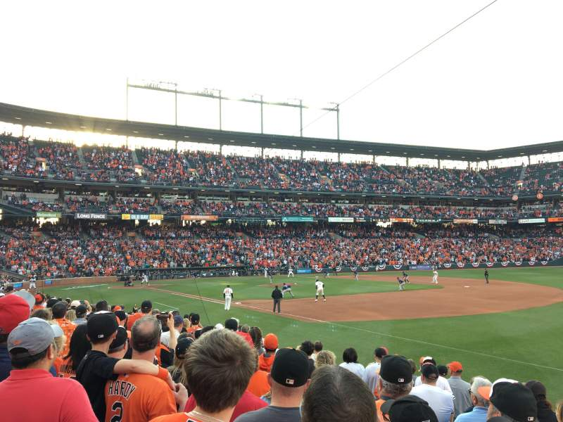 Oriole Park at Camden Yards, section: 12, rangée: 11, siège: 13