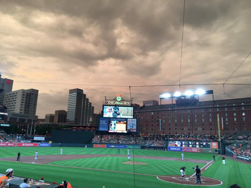 Oriole Park at Camden Yards, section: 44, rangée: 16