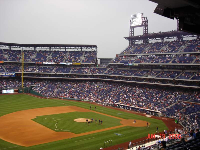 Citizens Bank Park, section: 232, rangée: 9, siège: 10