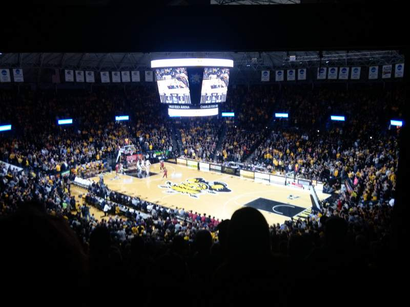 Charles Koch Arena, section: 118, rangée: 34