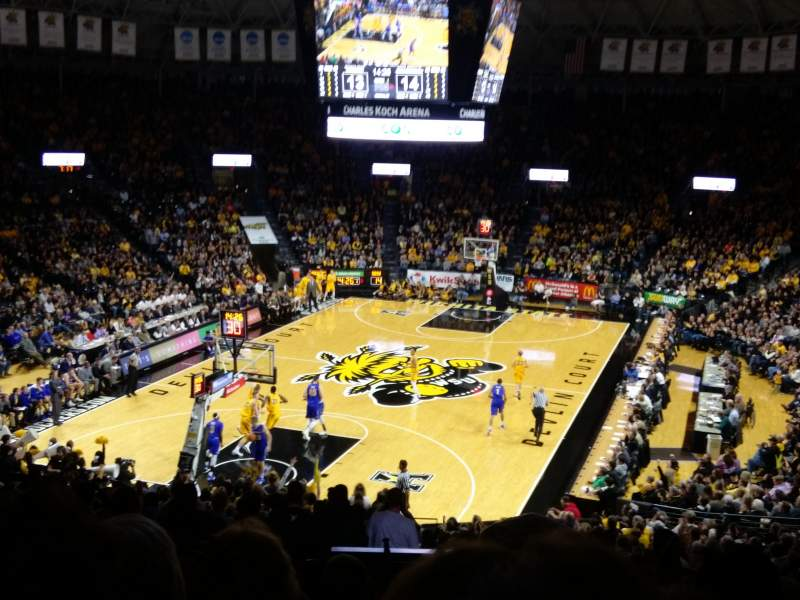 Charles Koch Arena, section: 115, rangée: 29