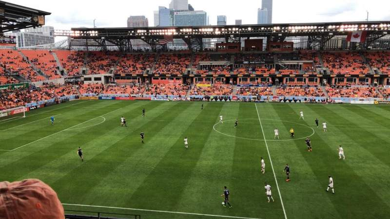 BBVA Compass Stadium, section: 226, rangée: J, siège: 21