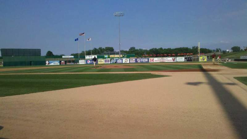 Vue de la place pour Neuroscience Group Field at Fox Cities Stadium