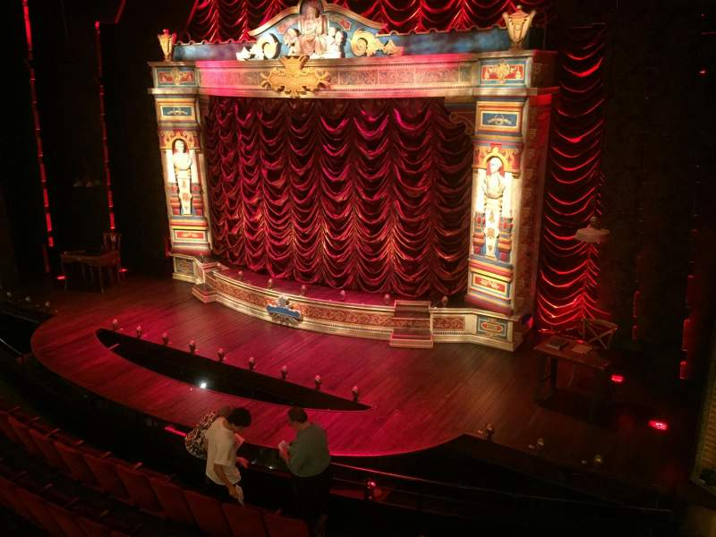 Walter Kerr Theatre, section: Mezz Right, rangée: B, siège: 14