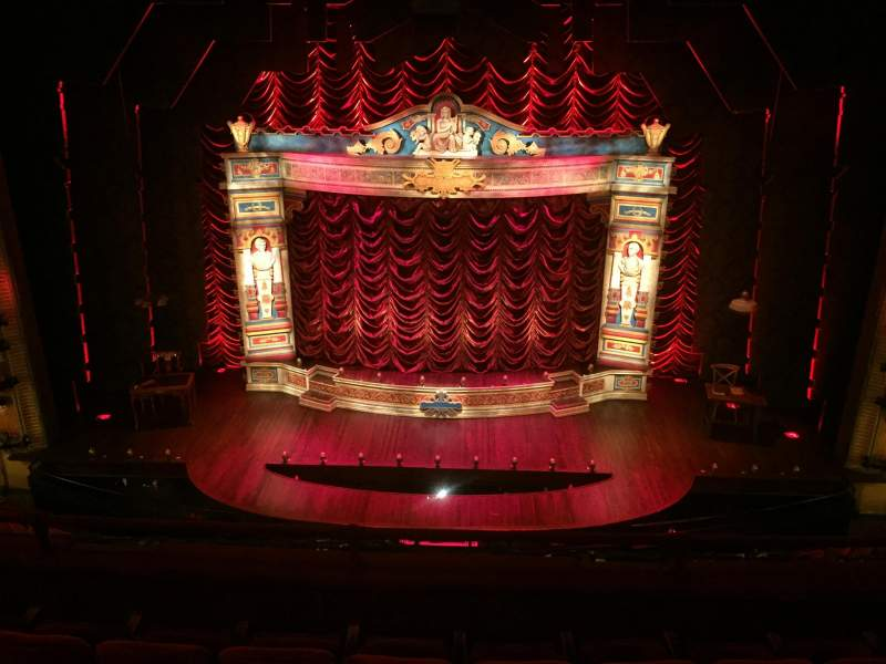 Walter Kerr Theatre, section: Mezz Center, rangée: G, siège: 107