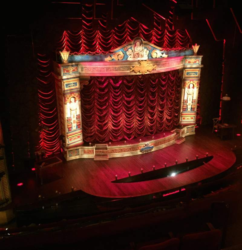 Walter Kerr Theatre, section: Mezz Left, rangée: G, siège: 7